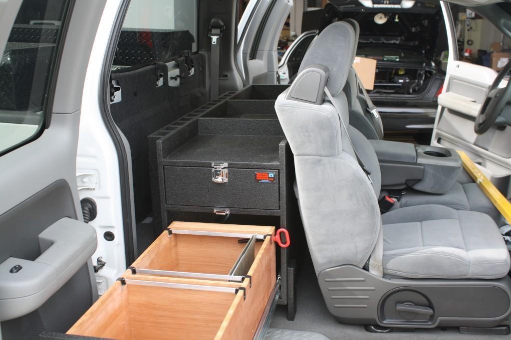 Pick Up Truck Storage For Public Works File Drawer Storage