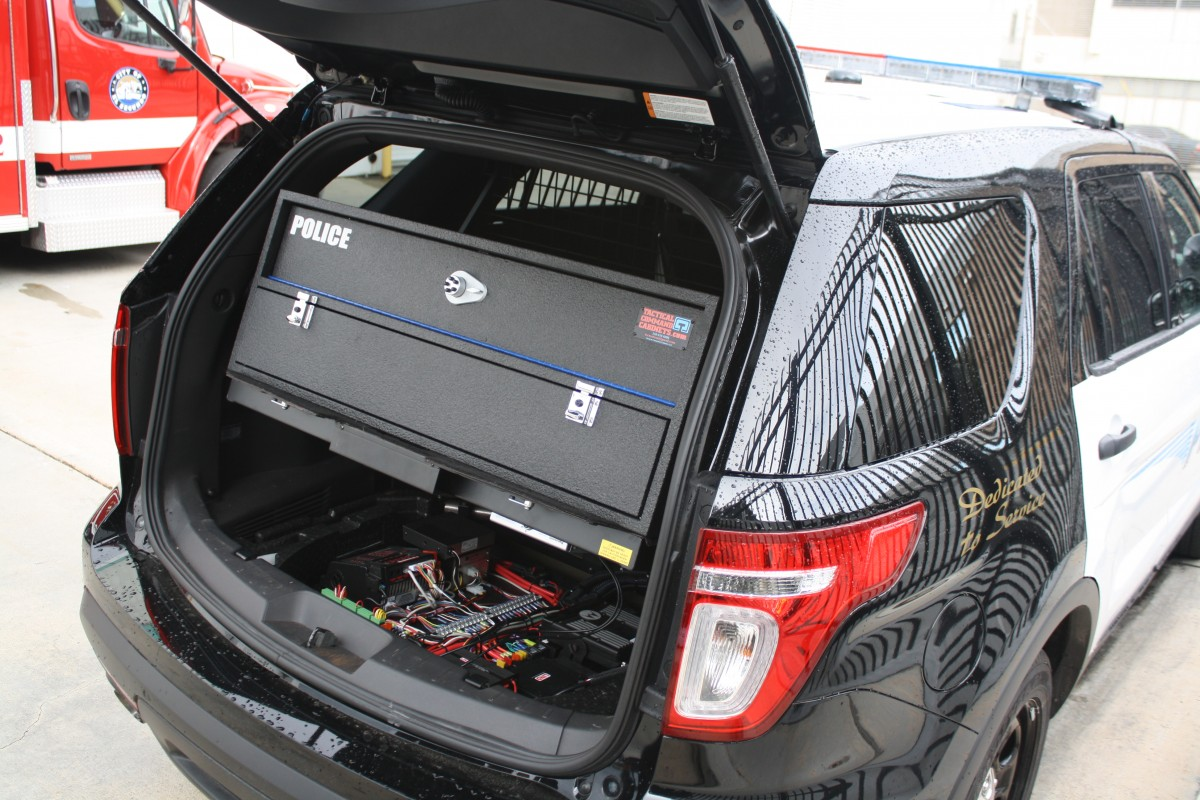 with storage trunk bins ford suv vehicle larger l hopkins drawers view collapsible cargo organizer