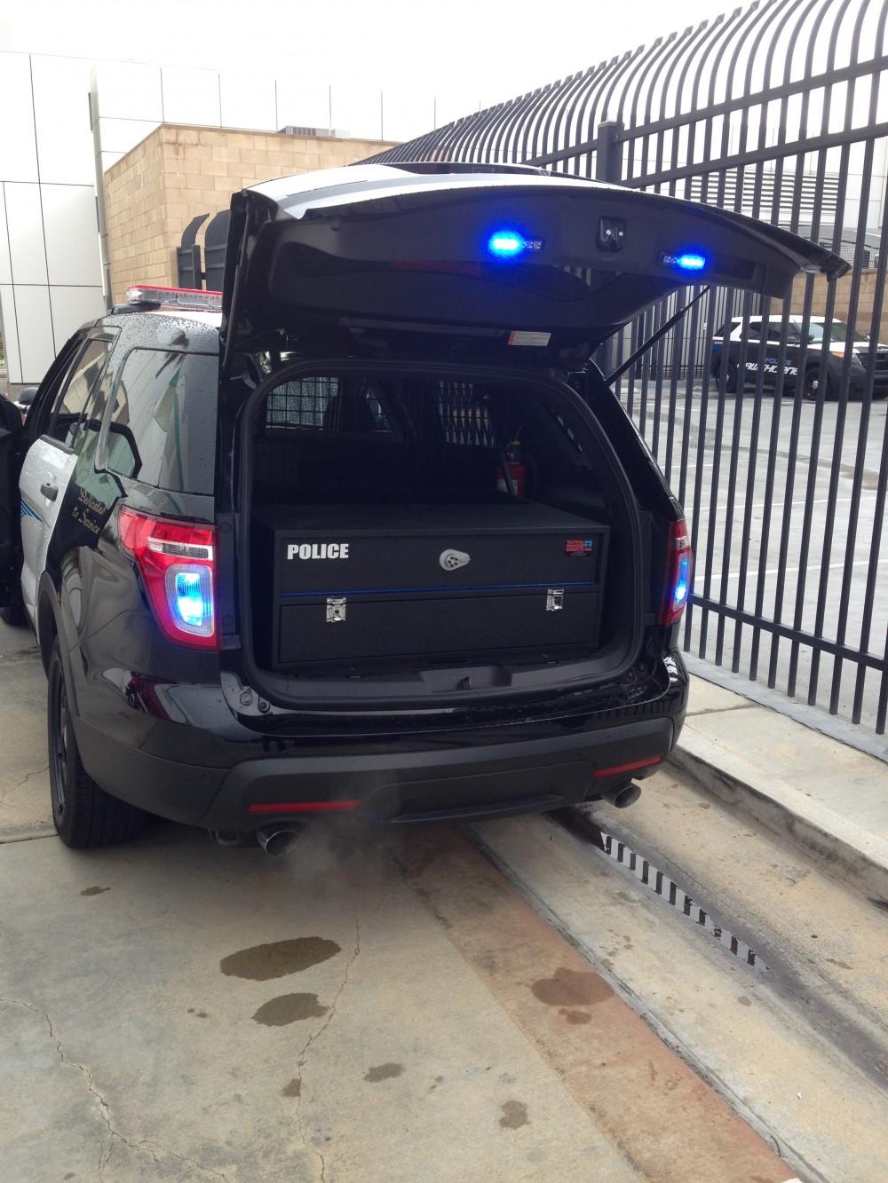 Police Explorer storage