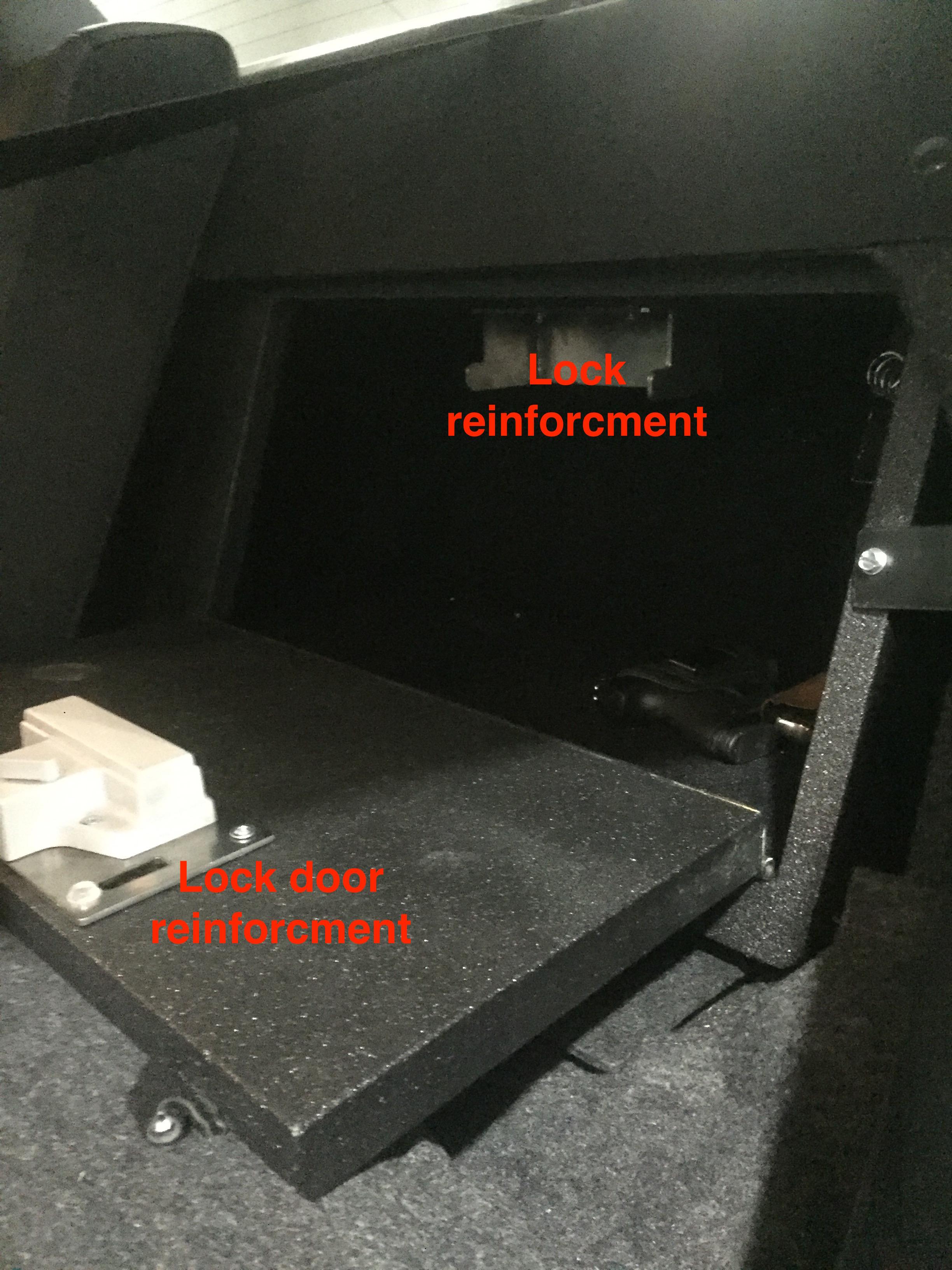 open gun box dodge charger