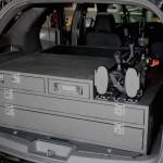Police SUV storage
