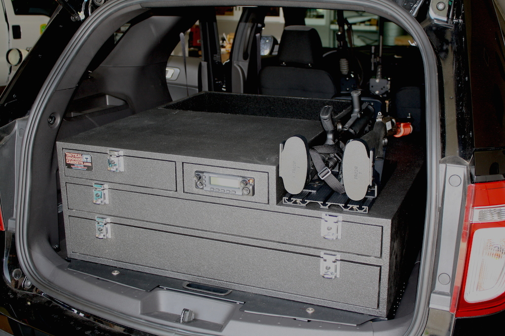 Ford Explorer Police Interceptor Storage Solutions