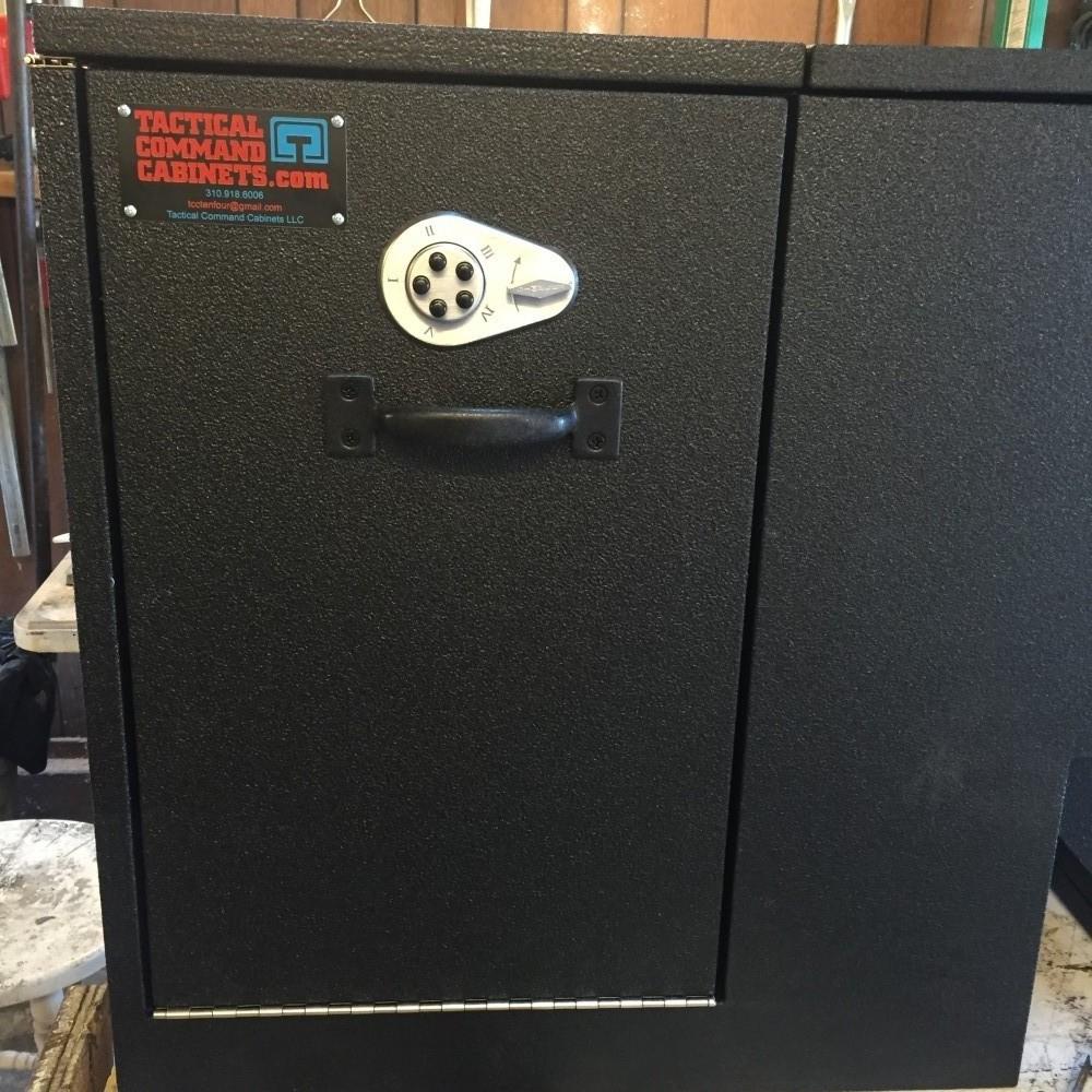 Drop down door quick equipment access