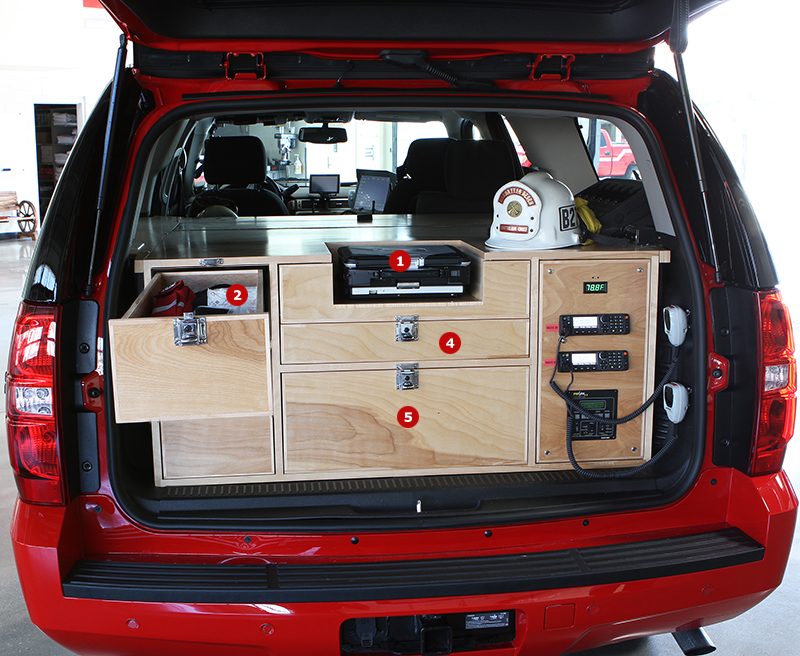 Command Center Cabinets For Fire Departments And