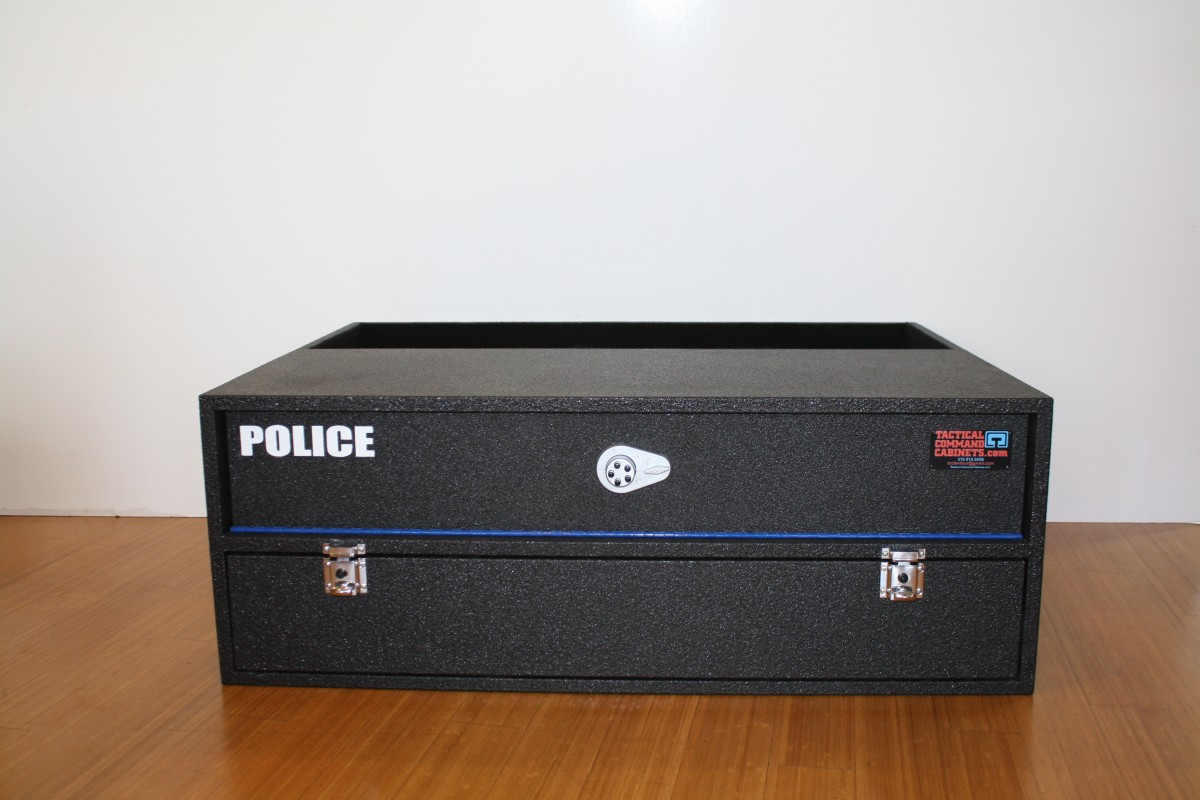 Police Suv Interceptor Gun Cabinet Tactical Command