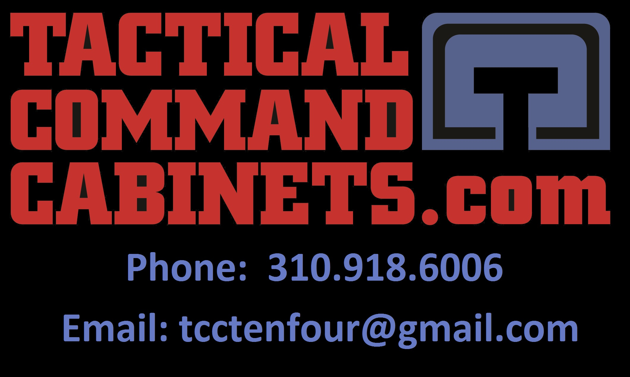 Command cabinets for police