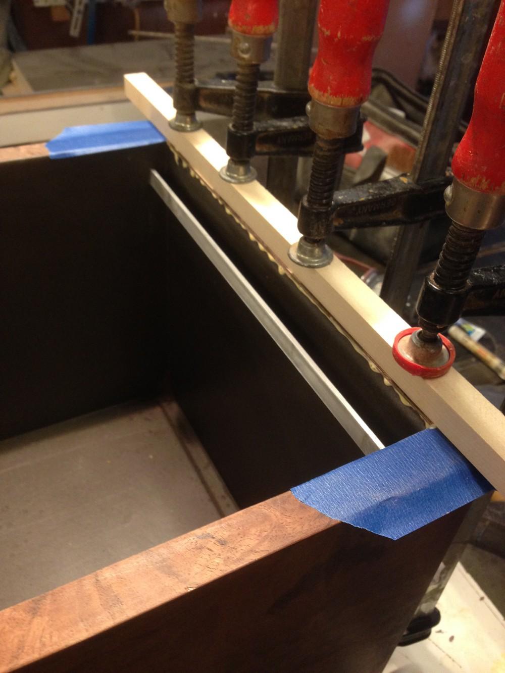 titebond glue on edgbanding